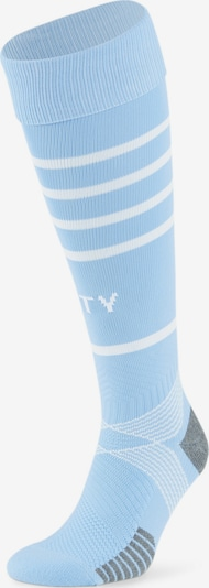 PUMA Sportsokken in de kleur Lichtblauw / Wit, Productweergave