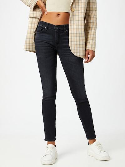 7 for all mankind Jeansy w kolorze czarnym, Podgląd na modelu(-ce)