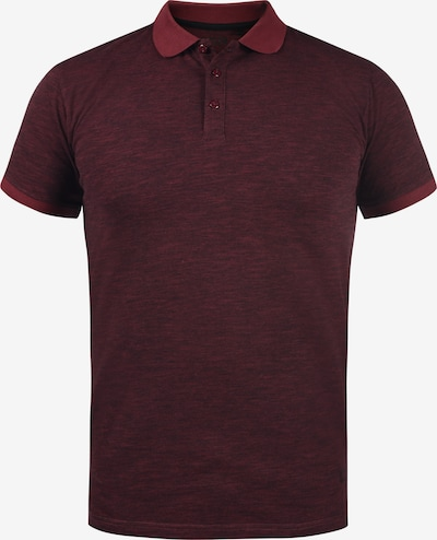!Solid Poloshirt 'Nedal' in weinrot, Produktansicht
