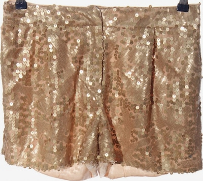 Spotlight by Warehouse Hot Pants in M in gold, Produktansicht