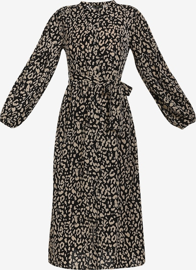 faina Kleid in beige / schwarz, Produktansicht