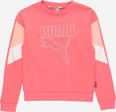 PUMA Sweatshirt in hellbeige / altrosa / weiß, Produktansicht