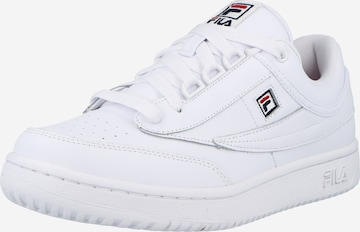 Baskets basses FILA en blanc
