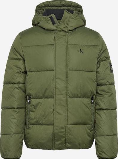 Žieminė striukė iš Calvin Klein Jeans , spalva - tamsiai žalia, Prekių apžvalga