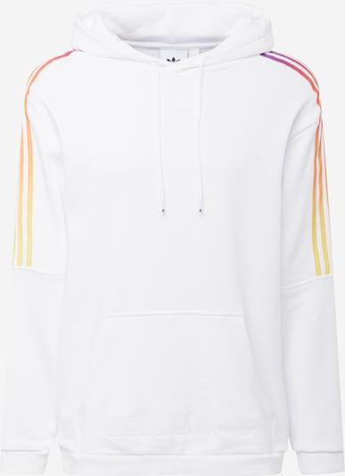 ADIDAS ORIGINALS Sweatshirt in de kleur Donkerlila / Sinaasappel / Wit, Productweergave