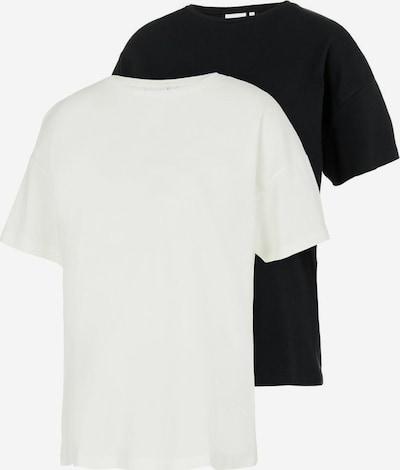 MAMALICIOUS Shirt in Black / White, Item view