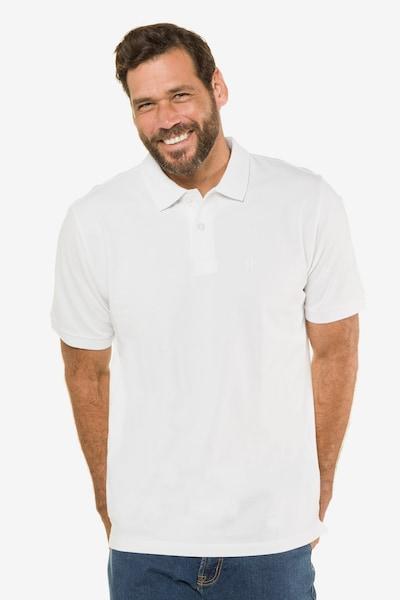 JP1880 Poloshirt in naturweiß: Frontalansicht