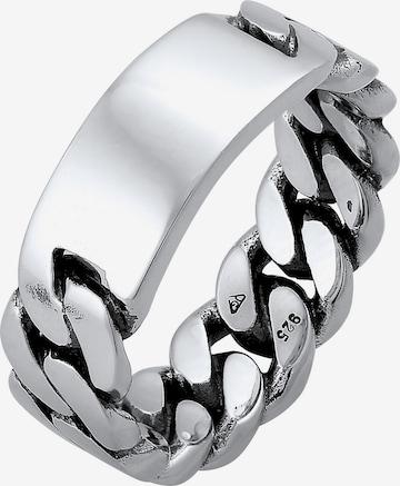 KUZZOI Ring Siegelring in Silber