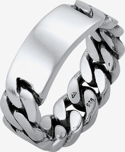 KUZZOI Ring Siegelring in silber, Produktansicht