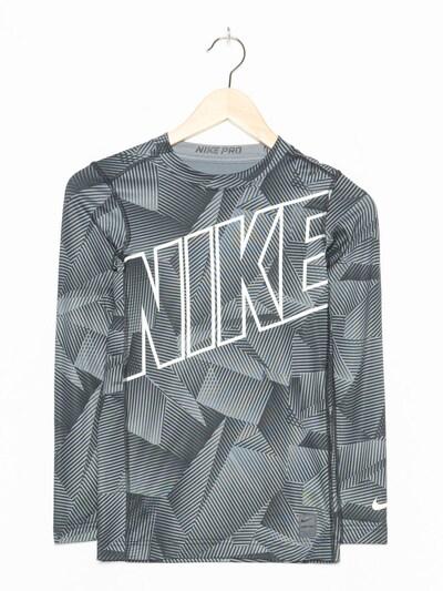 NIKE Sport T-Shirt in XS-S in grau, Produktansicht