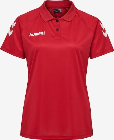 Hummel T-shirt fonctionnel en rouge / blanc, Vue avec produit