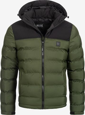 Veste d'hiver 'Eberhardy' INDICODE JEANS en vert