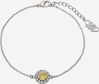 LILY AND ROSE Armband 'Celeste' in gelb / silber / weiß, Produktansicht