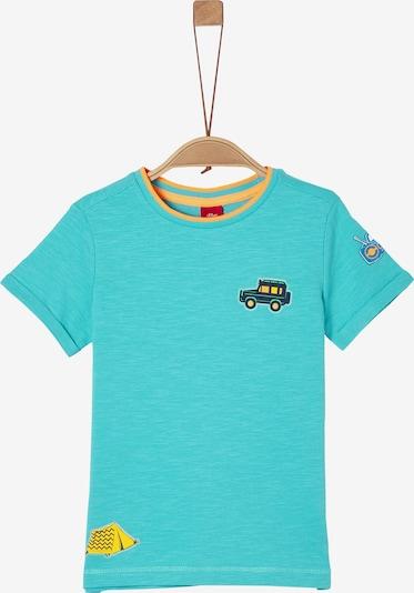 s.Oliver T-Shirt in aqua / mischfarben, Produktansicht