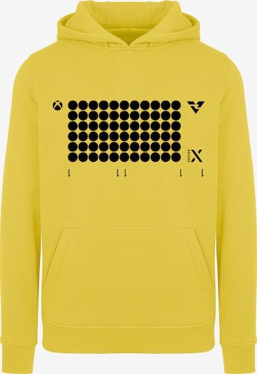 ABOUT YOU x XBOX Sweatshirt 'X Launch' in goldgelb / schwarz, Produktansicht