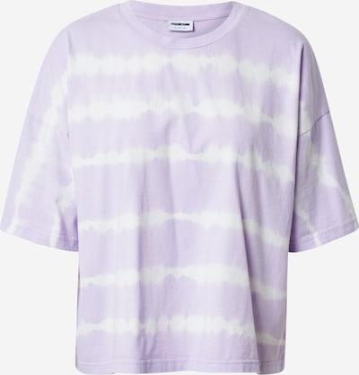 Noisy may Shirt 'BUSTER' in pastelllila / weiß, Produktansicht