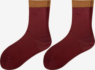 TOO HOT TO HIDE Medias finas 'NANDA'S SHINY SOCKS' en rojo, Vista del producto