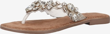 LAZAMANI Sandale in Silber