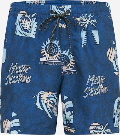 QUIKSILVER Шорти за плуване 'ISLAND PULSE VOLLEY 15' в нейви синьо / светлосиньо / бяло, Преглед на продукта