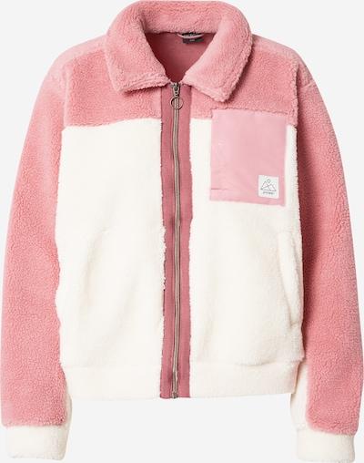 PROTEST Veste en polaire fonctionnelle 'QUARTZIE' en rose / blanc, Vue avec produit