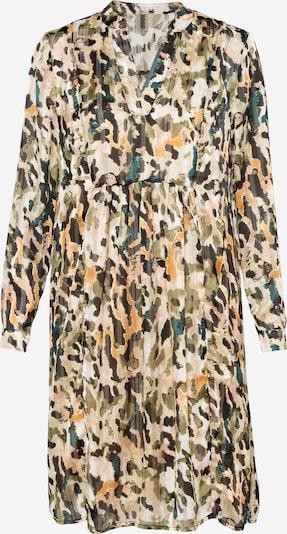 Love & Divine Kleid in beige / khaki / petrol / orange / schwarz, Produktansicht