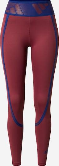 ADIDAS PERFORMANCE Sporthose in blau / bordeaux, Produktansicht