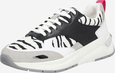 Sneaker bassa 'Skylar' BOSS di colore grigio / nero / bianco, Visualizzazione prodotti
