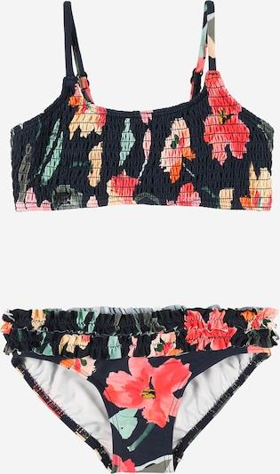 Seafolly Bikini in de kleur Donkerblauw / Lichtgeel / Mintgroen / Sinaasappel / Pastelrood, Productweergave