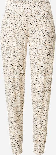 CALIDA Pyjamahousut 'Favourites Neutrals' värissä kitti / musta / valkoinen, Tuotenäkymä