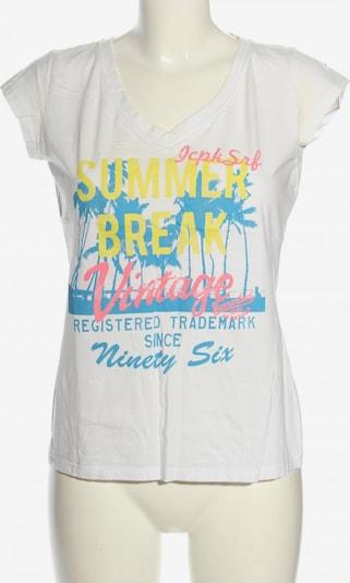 ICEPEAK Print-Shirt in M in blau / pastellgelb / weiß, Produktansicht