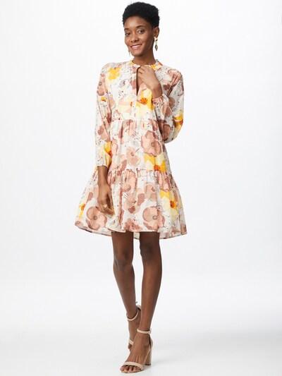 STEFFEN SCHRAUT Kleid 'Charlotte' in gelb / pastellgelb / puder / altrosa / weiß, Modelansicht