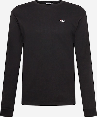 Tricou 'EDRIC' FILA pe negru, Vizualizare produs
