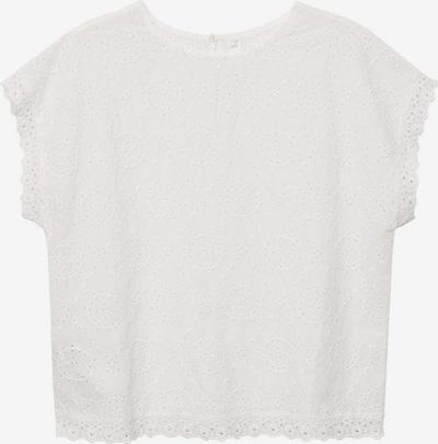 Bluză 'Romb' MANGO pe alb, Vizualizare produs