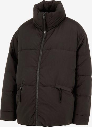 Pieces Maternity Winter Jacket 'Freeda' in Black