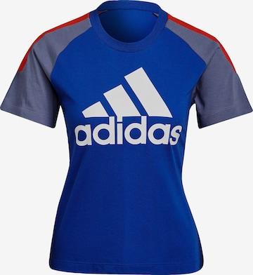 ADIDAS PERFORMANCE Koszulka funkcyjna w kolorze niebieski