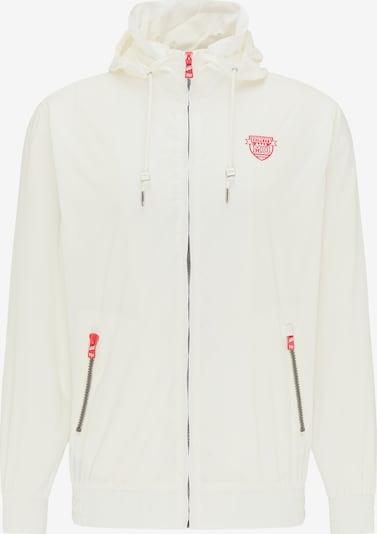 MO Prechodná bunda - ohnivo červená / biela, Produkt