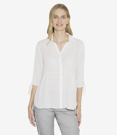 Soccx Crepe-Bluse in weiß, Modelansicht