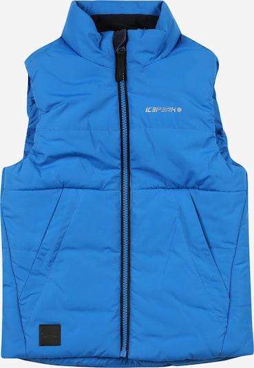 ICEPEAK Weste 'KRAICHTAL' in himmelblau, Produktansicht