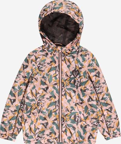 Noppies Prehodna jakna 'Lakson' | turkizna / rumena / lila / svetlo roza barva: Frontalni pogled