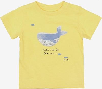 STACCATO T-Shirt in rauchblau / nachtblau / hellgelb / hellgrau, Produktansicht