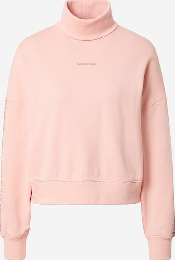 Calvin Klein Jeans Sweatshirt in Pink / Rose, Item view
