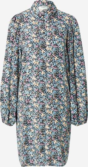 Moves Vestido camisero en beige / azul claro / rosa / negro, Vista del producto