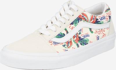 VANS Sneaker 'Old Skool' in beige / jade / dunkellila / melone / weiß, Produktansicht