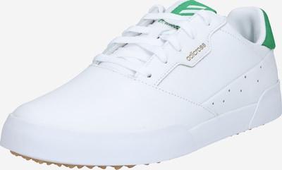 adidas Golf Chaussure de sport 'RETRO' en vert / blanc, Vue avec produit
