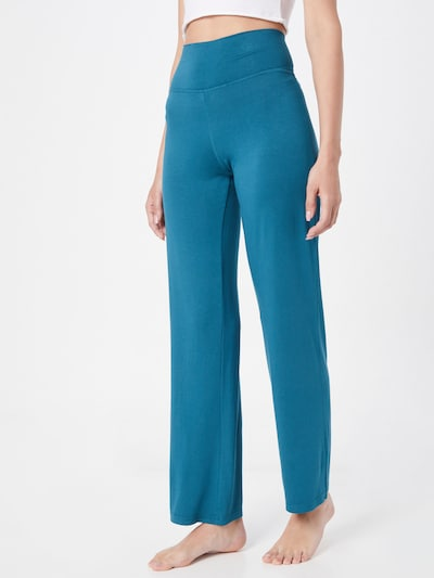 ETAM Панталон пижама 'AMELIA' в небесносиньо: Изглед отпред