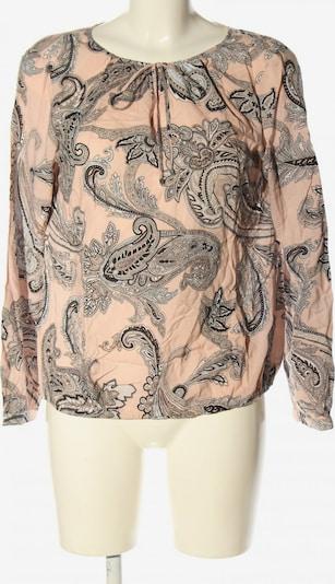 S.OLIVER PREMIUM Langarm-Bluse in M in nude / schwarz, Produktansicht