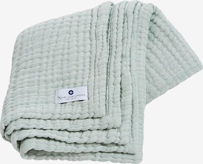 nordic coast company Babydecke 4-in-1 ideal als Pucktuch und Spucktuch in grün / mint, Produktansicht