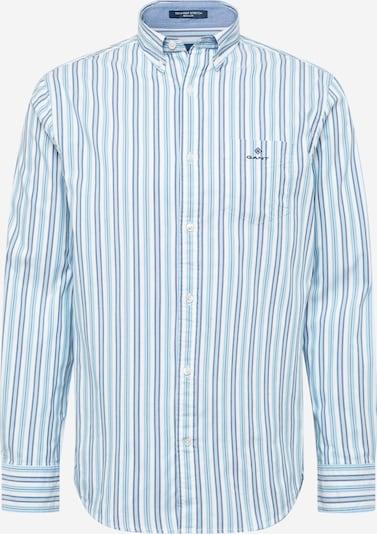 GANT Košeľa - modrá / tmavomodrá / biela, Produkt