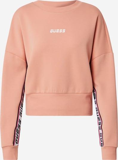 Sportinio tipo megztinis iš GUESS , spalva - koralų splava / rožių spalva / juoda / balta, Prekių apžvalga