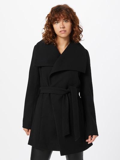 VILA Mantel 'Pukti' in schwarz, Modelansicht